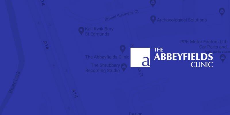 the abbeyfields clinic logo