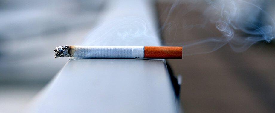 cigarette with smoke