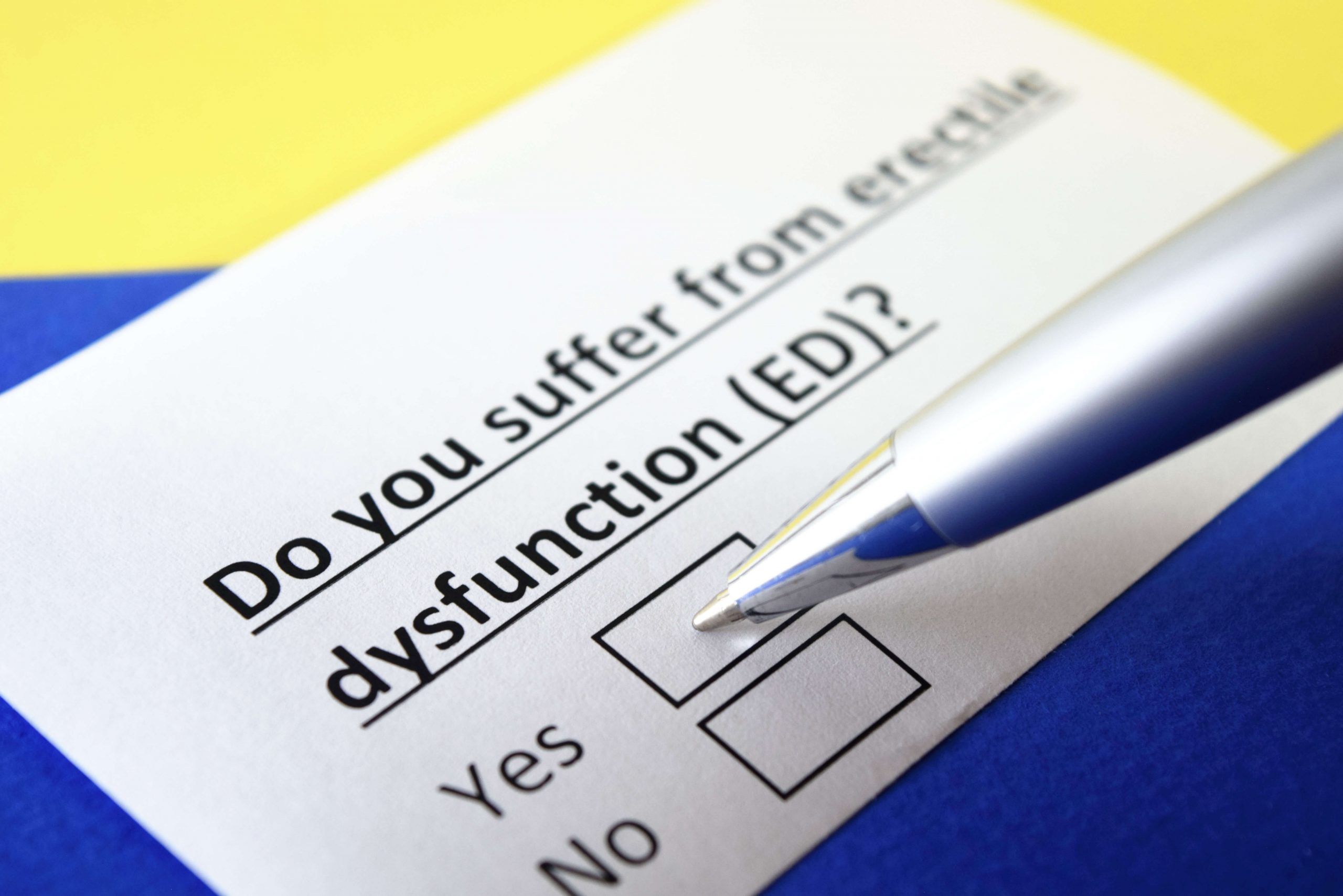 Erectile Dysfunction Test: How Can I Be Sure it is ED?